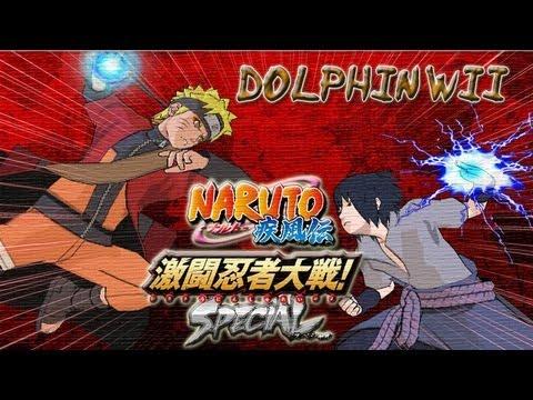 Dolphin Wii Naruto Shippuden Gekitou Ninja Taisen Special ...