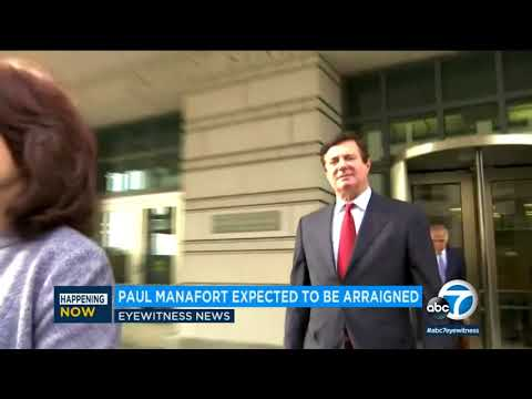 Paul Manafort pleads not guilty to new Russia charges I ABC7