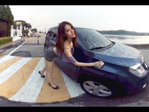 [180 3D VR] Her A EP.9 Bikini car wash(re)