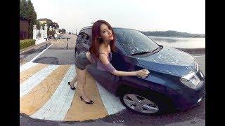 [180 3D VR] Her A EP.9 Bikini car wash