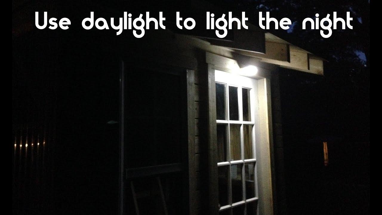 Beautiful solar Front Door Light