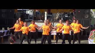 Występ FIT DANCE SHOW Borek WLKP na Dożynkach w Zbęchach 20.08.2017