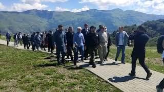 Юрий Трутнев посетил горнолыжный курорт Ведучи