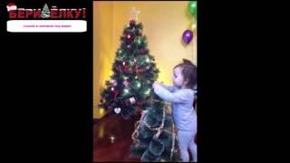 новогодняя елка клипарт на прозрачном фоне