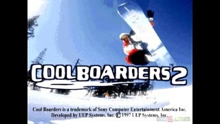 Cool Boarders 2 - Gameplay PSX (PS One) HD 720P (Playstation classics)