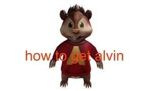 roblox / how to get alvin