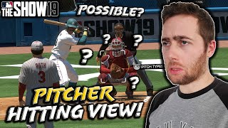 I USED THE PITCHER VIEW TO HIT...MLB THE SHOW 19 DIAMOND DYNASTY