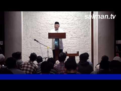 Ceramah Taraweh : Prof.Dr.KH. Din Syamsudin, MA