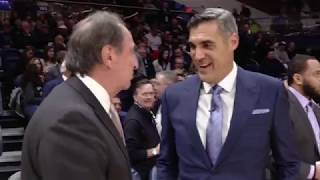Inside Villanova Basketball with Jay Wright: Finneran Pavilion Segment