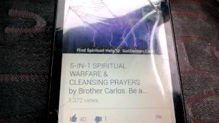 5 - 1N-1 SPIRITUAL WARFARE AND HOUSE CLEANING AND MONEY BLESSINGS PRAYERS