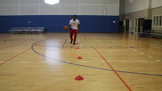 Basketball Heads Up Dribbling Drill