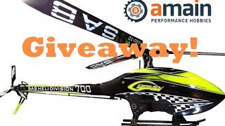 GIVEAWAY | AMain Hobbies Goblin Kyle Stacy 700 Helicopter