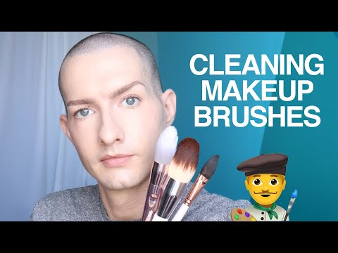 My secret to clean makeup brushes