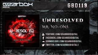 Unresolved - Mr. No-one [GBD119]