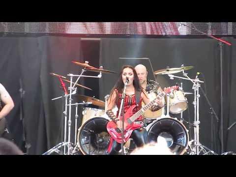 Crystal Viper - Metal Nation @ Ostrava v plamenech, 5.08.2017