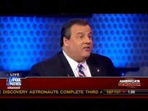 Governor Christie on America's Newsroom - Part 1
