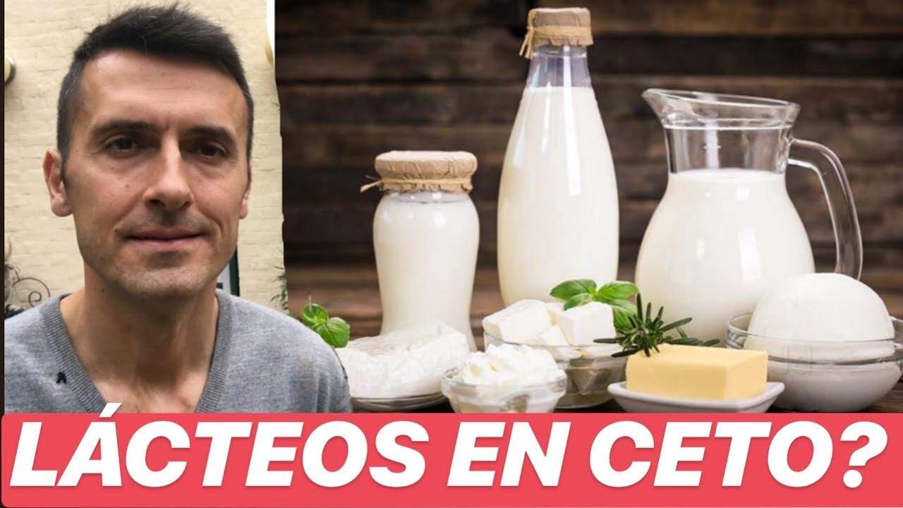 puedes tomar leche en la dieta cetosis