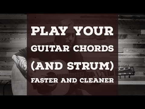 3 Tips | Play Your Chords and Strum FASTER and CLEANER | Beginner Guitar | Steve Stine