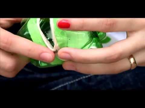 85 tips ecologicos monedero botellas plasticas youtube - Botellas de plastico manualidades ...