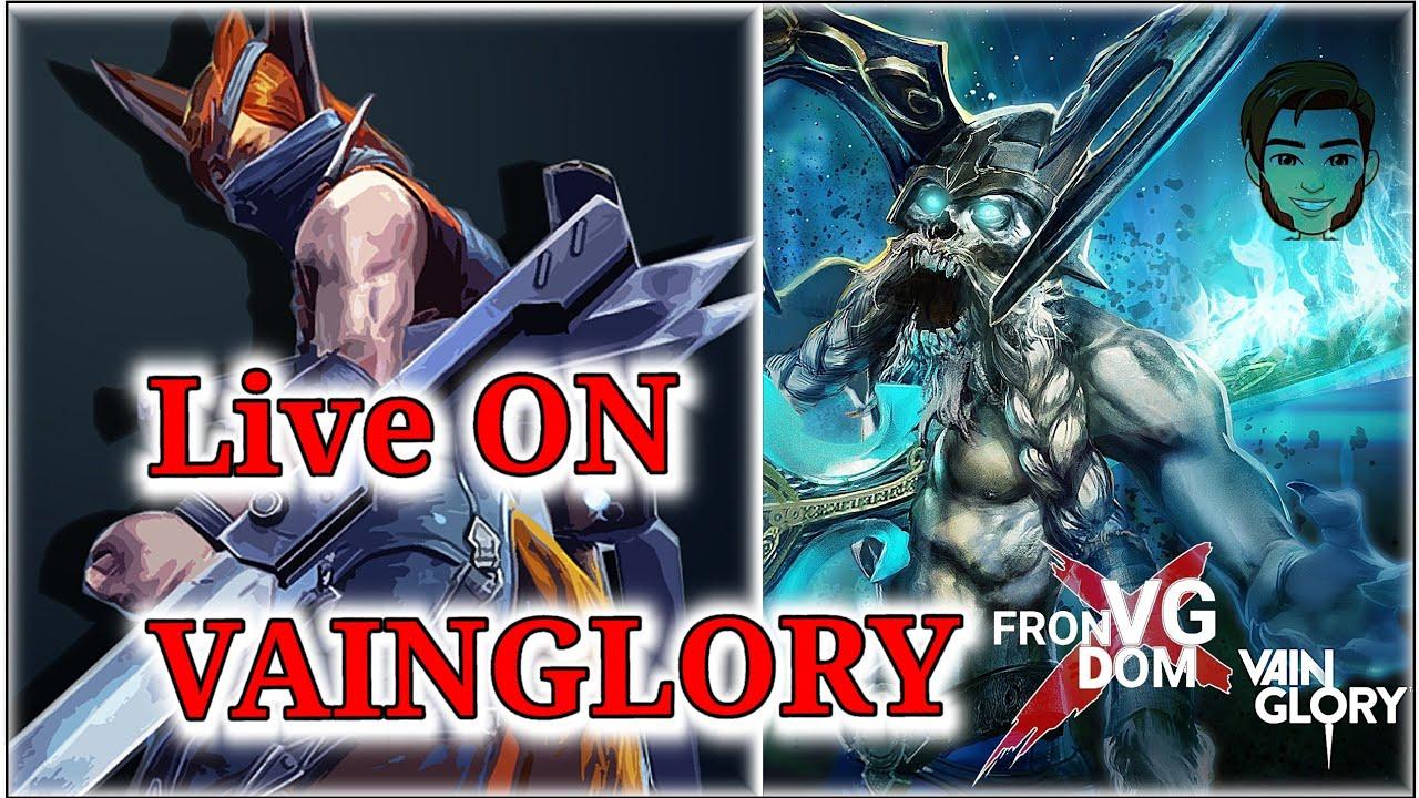 live de Vainglory ETAPA 1B