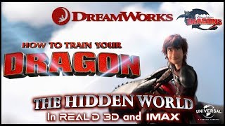 HOW TO TRAIN YOUR DRAGON THE HIDDEN WORLD TRAILER 1 HD