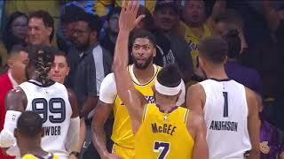 Los Angeles Lakers vs Memphis Grizzlies | October 29 2019