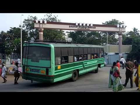 Manapparai bus stand