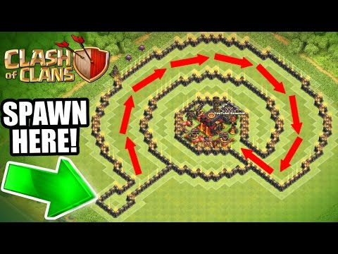 "Thumbnail: Clash Of Clans - INSANE ""NO NAME"" TROLL BASE!! - CAN IT BE BEATEN!?!"