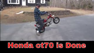 Worn Out Honda Trail 70 Is Finished, Pt7