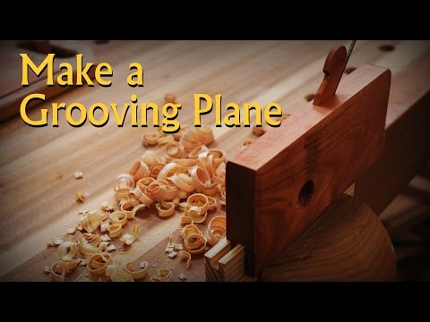 Making a Moulding Style Groove Plane