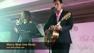Merry Bees Live Music - Singing Duo singing to Alicia Keys' If I Ain't Got You