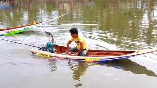 Longtails Boat with jet ski engine