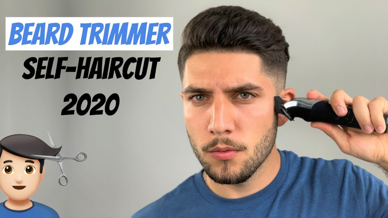 Beard Trimmer Self-Haircut Tutorial 12  How To Cut Your Own Hair With A  Beard Trimmer