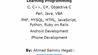 Part 1 - Learning Programming - Introduction for beginners