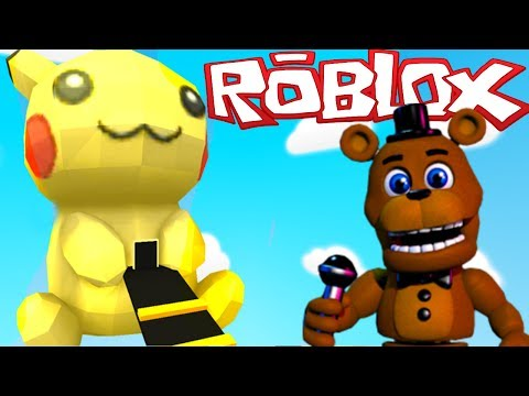 FIVE NIGHT'S AT FREDDY'S PIKACHU ESCAPE IN ROBLOX | FNAF AND POKEMON