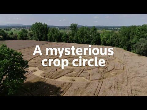 Bizarre Crop Circle Appears In German Field