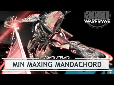Warframe: Min Maxing Octavia's Mandachord & My Music