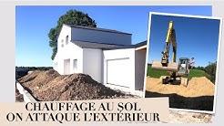 EP9 : LES TRAVAUX REPRENNENT - CHAUFFAGE AU SOL - GROS CHANTIER SUR LE TERRAIN & FOUS RIRES !