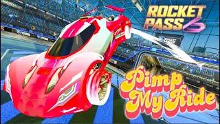 Pimp My Rocket League Ride - Rocket Pass 6