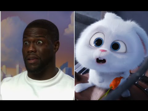 Kevin Hart releases his angry bunny - The Secret Life of Pets FUNNY INTERVIEW