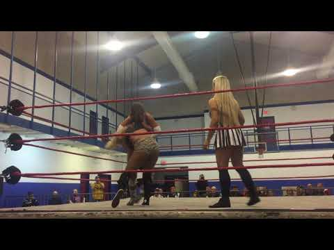 Torey Payne vs Meg - Special Guest Referee Cali - Ohio Valley Wrestling OVW thumbnail