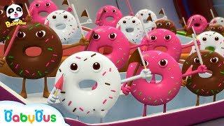 *NEW*올라라라~도넛 이겨라!| 멈추지마 화이팅!|도넛 경기대회동요|베이비버스 인기동요|BabyBus