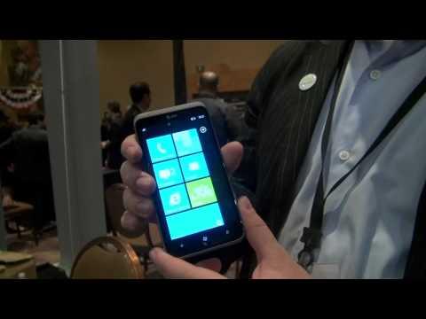 HTC TItan II Hands-on - CES 2012