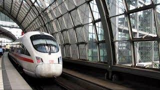 Deutsche Bahn ICE 1698 (Frankfurt to Berlin) - August 24th, 2018