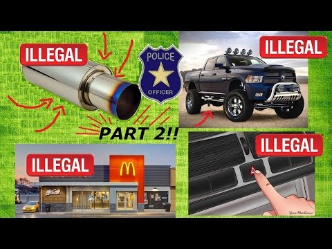 TRAFFIC LAWS YOU DIDN'T KNOW YOU WERE BREAKING PART 2!!