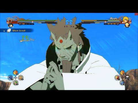 Naruto Ultimate Ninja Storm 4 PC MOD - Hagoromo Otsutsuki Sage of Six Paths Moveset Mod Gameplay