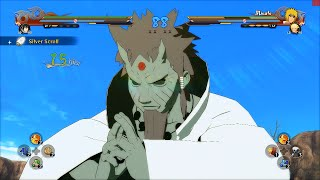 Naruto Ultimate Ninja Storm 4 PC MOD - Hagoromo Otsutsuki Sage of Six Paths Moveset Mod Gameplay