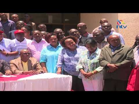 Jubilee Party sets out road map before October 26th poll