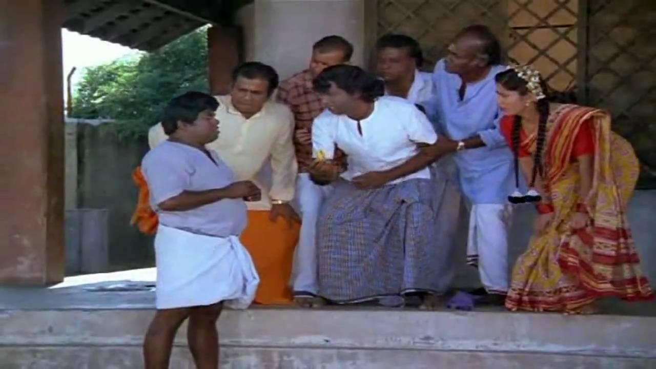 Banana Comedy Senthil & Kaundamani from Karakattakaran 1989 Tamil