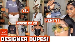 HUGE ALIEXPRESS BOUJIE ON A BUDGET TRY ON HAUL | ULTIMATE DESIGNER DUPES HAUL | *MUST SEE*!!